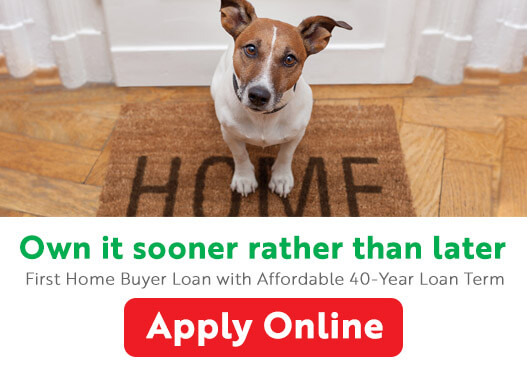 Low rate first home buyer loan